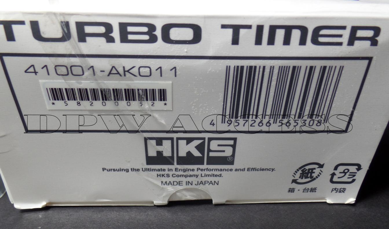 Genuino Hks Turbo Timer Empuje Botn De Inicio Encendido Tipo O 0 2012 Wrx Wiring Diagram Part Number